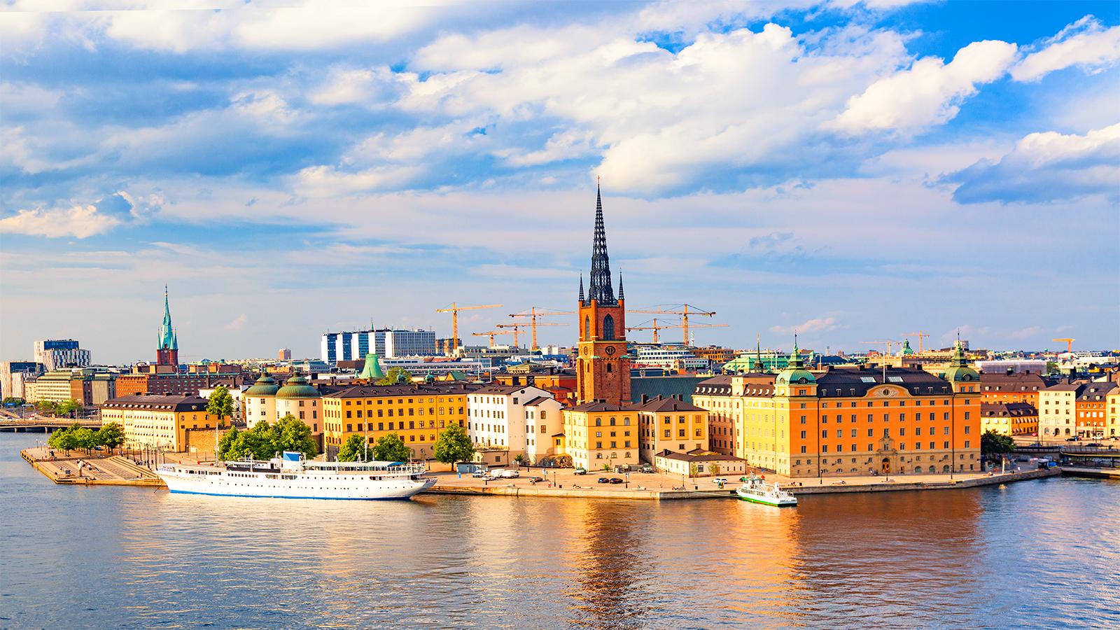 Panoramica de Estocolmo