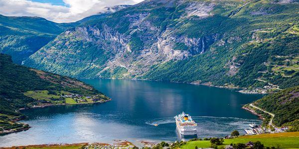 Fiorde de Geiranger Noruega
