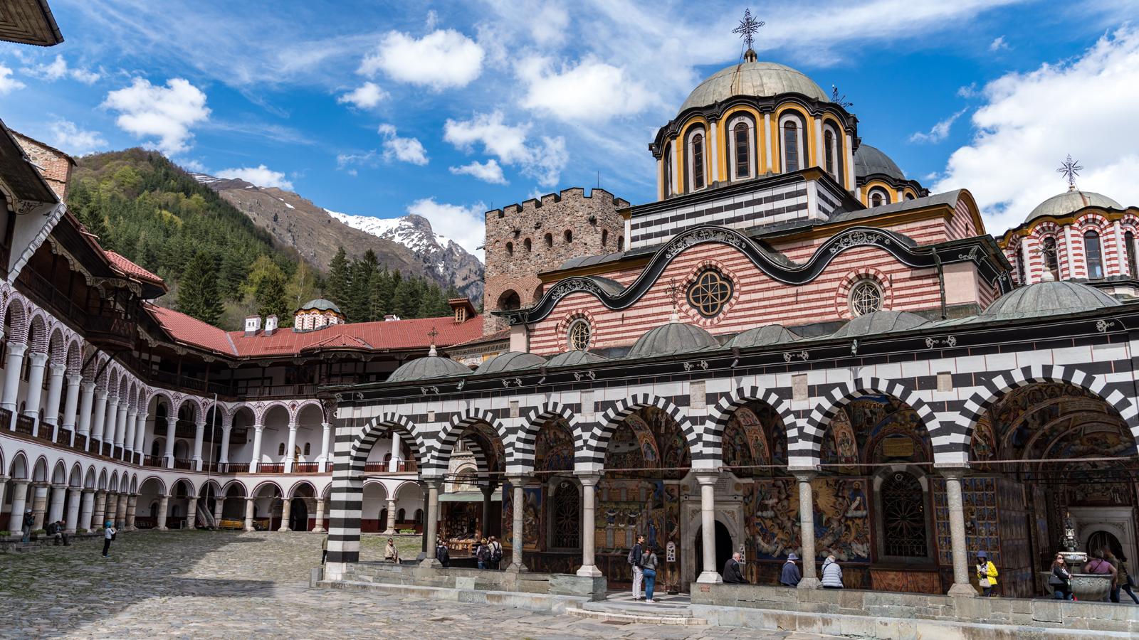 Bulgária - Mosteiro de Rila