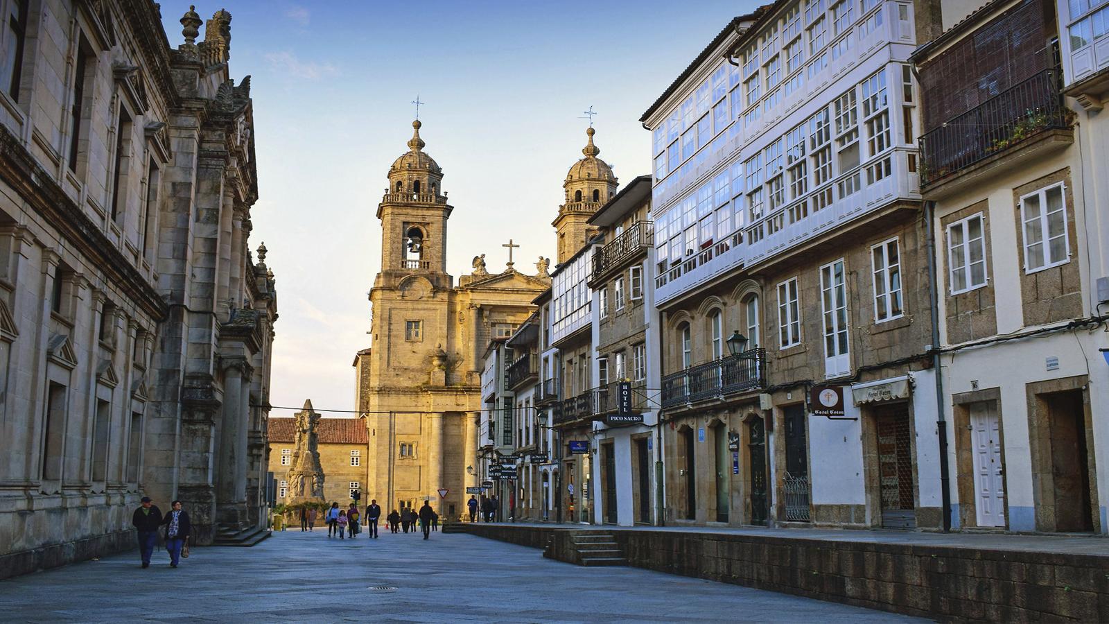 Ruas de Santiago de Compostela