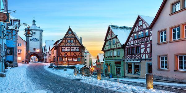 Circuito Mercados de Natal Wurtzburgo e Nuremberga