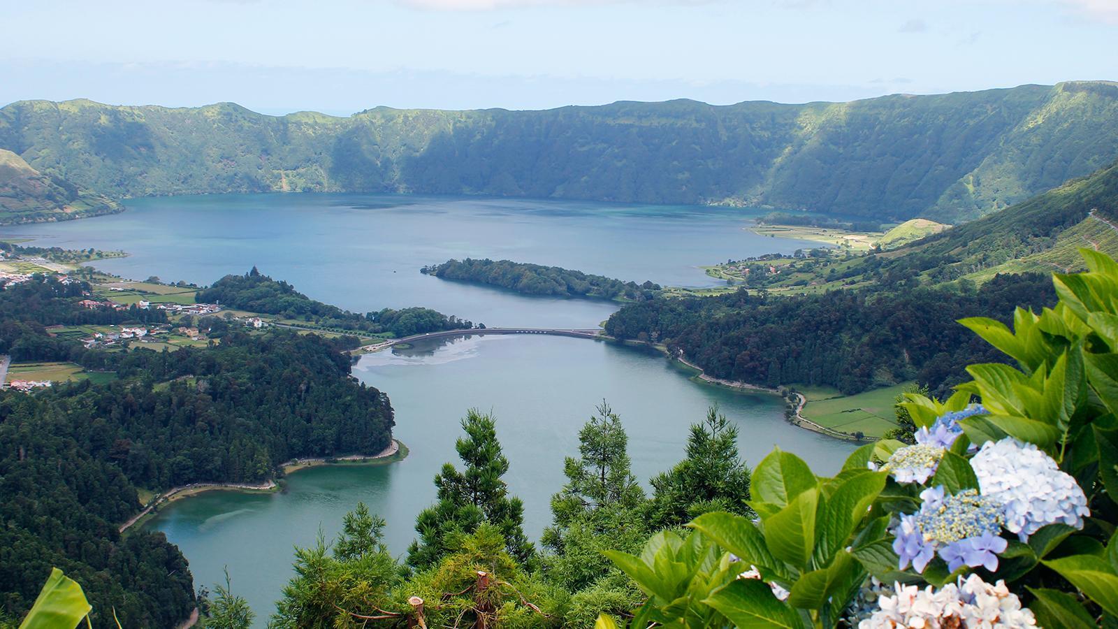 Lagoas das Sete Cidades em S. Miguel, Açores