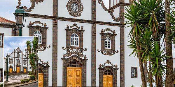 Igreja de S. Jorge na Vila do Nordeste em S. Miguel