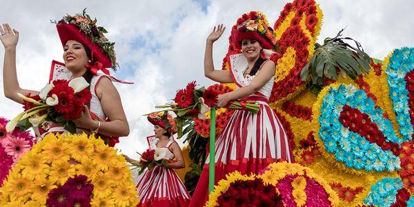 Circuito ESGOTADO - Festa da Flor - Madeira  Partida a 1 de Maio de Lisboa