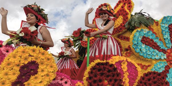 Circuito PARTIDA GARANTIDA - Festa da Flor - Madeira  Partida a 2 de Maio