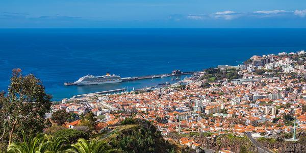 Vista Panorâmica do Funchal