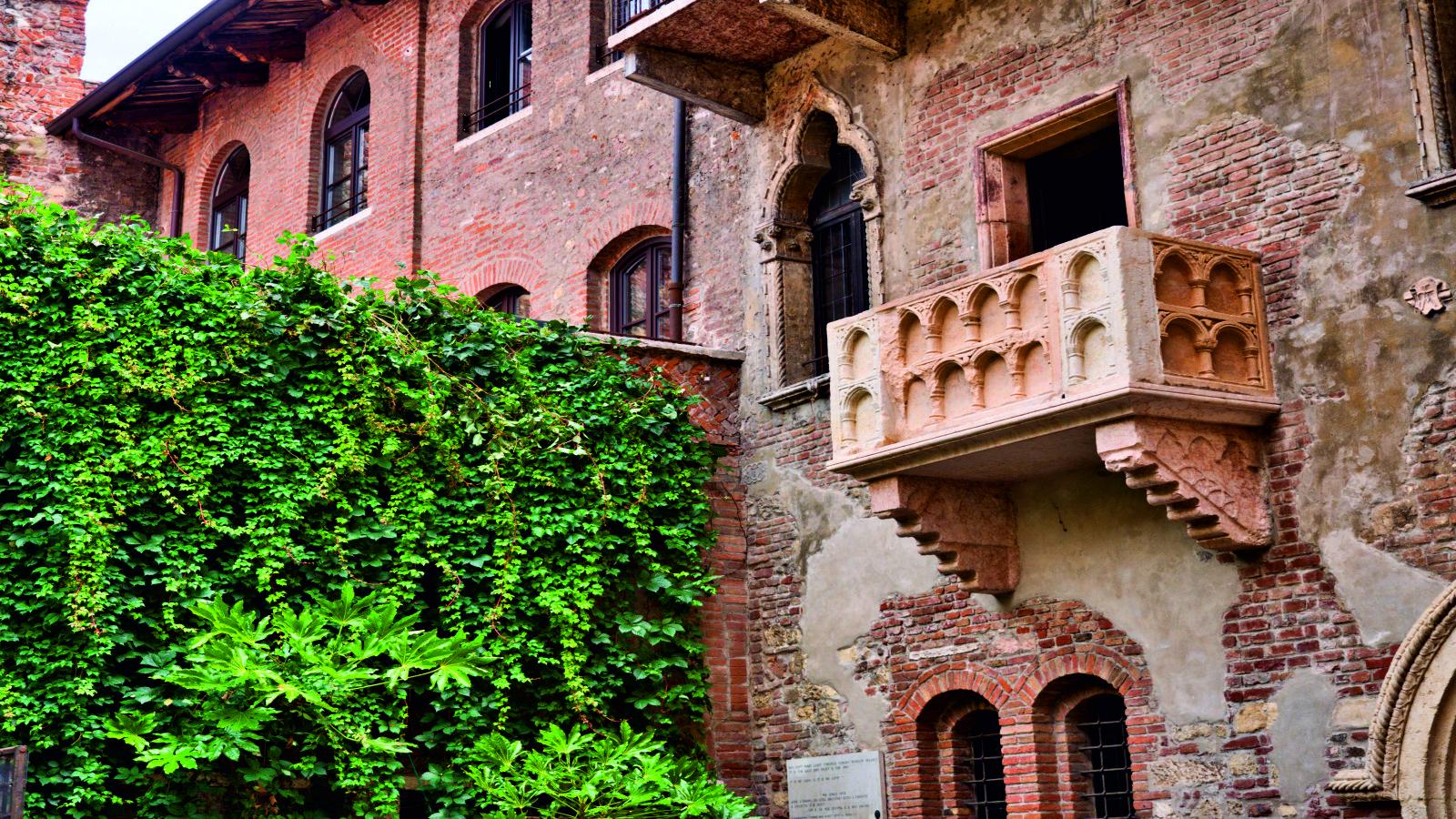 Verona - Varanda de Romeu e Julieta