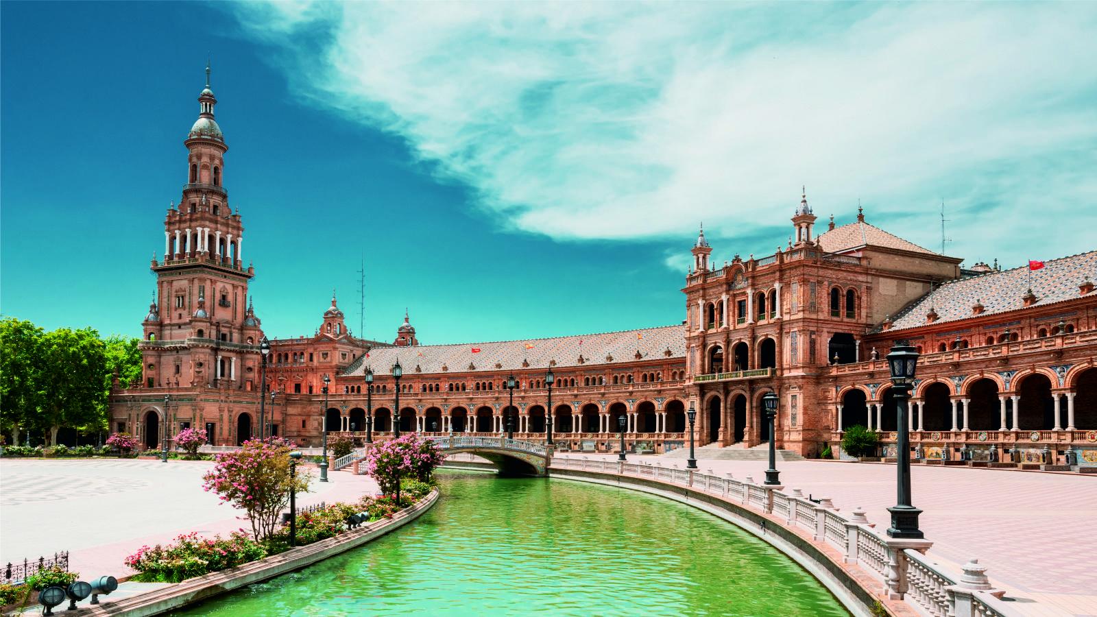 Sevilha - Praça de Espanha